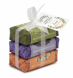 Mistral Soap Pack with a Bow, 3 - 100 g paper wrapped soaps: Verbena, Lavender, Melon Pear by Mistral. $16.00. Save 9% Off!. 100% pure vegetable soap. Mistral shea butter soap is recommended for everyone, even those with sensitive skin. Contains shea butter and the highest quality oils of olive, palm or coconut. Wrapped in beautifully designed paper and held together with a lovely, crisp, white bow. Finished product not tested on animals