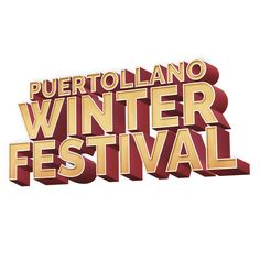 Logotipo Winter Festival Puertollano