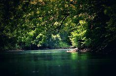 Kayaking on the Kiskiminetas River in Apollo, Pennsylvania