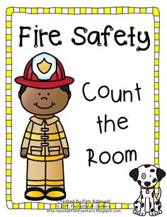 Fire Safety - Count the Room from 1-12