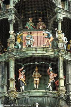 Munich Glockenspiel...great city, great food, great beer!