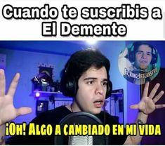 Jaja -Sigueme @el_demente_memes_ y al el @el_ring_descansero - #eldemenfan #eldemenfans #eldemente #el #xd #meme #memesespañol #memes #momos #momo #humor #humornegro Youtube Memes, Jaejoong, Funny Posts, Funny Memes, Fandoms, Lol, Anime, Lgbt Love, Memes En Espanol