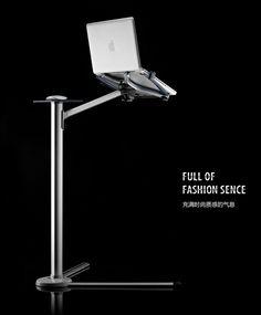 360º rotating tilting height adjustable laptop floor/bed stand/holder + bonus