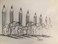 """#CharlieHebdo #editorial """"Nous ferons face"""" Par François Régis Hutin http://www.ouest-france.fr/charlie-hebdo-nous-ferons-face-editorial-3101604…"""