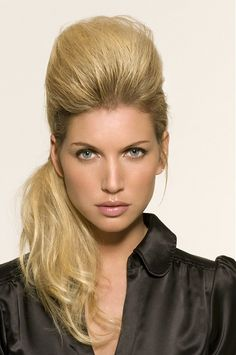 Large image of long blonde straight hairstyles provided by Royston Blythe. Picture Number 11791