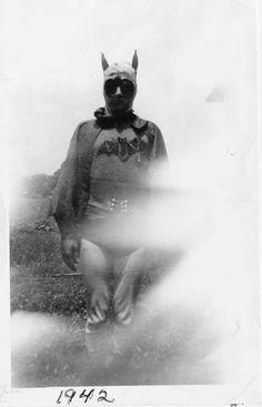Homemade Batman Cosplay, 1942