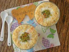 Krem Şantili Muhallebi Nasıl Yapılır? Smoothie Recipes, Camembert Cheese, Food And Drink, Pudding, Breakfast, Desserts, Ankara, Pizza, Cases