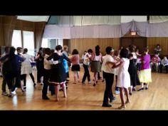 Tamarack Students Dance the Foxtrot During Their Ballroom Dance Performance