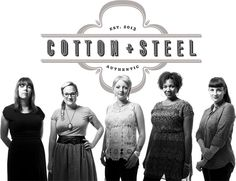 Check out our new fabric company! Cotton+Steel!!  There's even a short film about our adventure...... http://vimeo.com/76730844