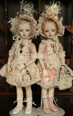 French BJD dolls by Japanese maker. Could not figure out the name! If anyone knows, please let me know!
