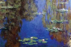 Monet - Water Lilies. High quality vintage art reproduction by Buyenlarge. One of many rare and wonderful images brought forward in time. I hope they bring you pleasure each and every time you look at