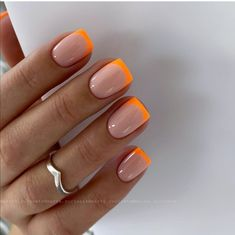 Easy to try nail trends, look here is enough - Page 35 of 140 - Inspiration Diary Summer Acrylic Nails, Cute Acrylic Nails, White Summer Nails, Fire Nails, Minimalist Nails, French Tip Nails, Pink Tip Nails, Short French Nails, Short Gel Nails