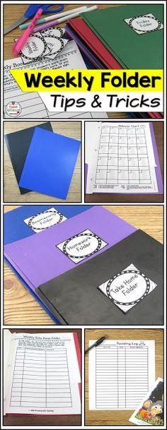 Homework folders, da