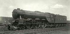 LNER class Pacific No 60 'The Tetrarch'. Diesel Locomotive, Steam Locomotive, Train System, Steam Railway, British Rail, Train Engines, Steam Engine, Public Transport, Old Photos