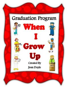 My Kinder Garden Blog Kindergarten Graduation Program This Is