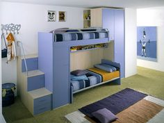 Rosa Claro Persianas: DICA - 88: Quarto pequeno para duas crianças: como decorar e ganhar espaço