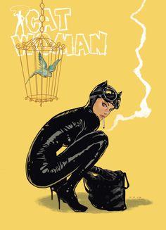 Cat woman - Dave Seguin