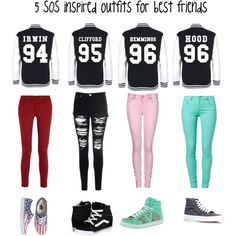 5sos inspired outfits