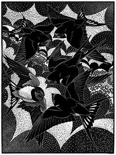 Valediction of Swallows - by Colin See-Paynton RE
