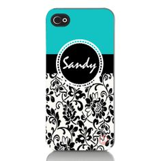 Personalized iPhone 4, 4s, 5 Cell Phone Case