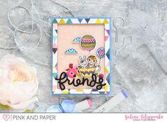 Card tutorial - April card kit | Galina Filippenko