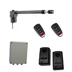 Οικονομικό, πλήρες κιτ μονόφυλλης αριστερής ανοιγόμενης γκαραζόπορτας το οποίο περιλαμβάνει: ένα μοτέρ MPC SW400 (αριστερό), πινακοδέκτη ProfelmNet 2114 σε στεγανό πλαστικό κουτί, σετ ενσύρματα φωτοκύτταρα ασφαλείας και δύο τηλεχειριστήρια. Usb Flash Drive, Usb Drive