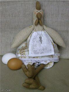 Мастер-класс : тильдо-курочка Коко - Ярмарка Мастеров - ручная работа, handmade