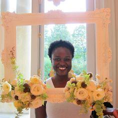 Cadre fleuri pour l'arche de cérémonie réalisée à l'occasion du Lab Oui².  Retrouvez mes compositions florales sur www.drissia.fr et www.facebook.com/pages/drissia