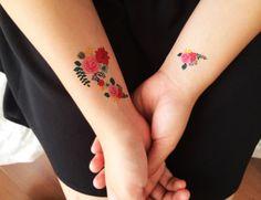 TATUAGEM TEMPORÁRIA FLORAL - Tattooux - Tatuagens Temporárias