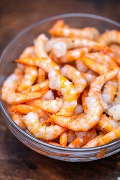 Shrimp Salad Recipe [Video] - Sweet and Savory Meals Pea Salad Recipes, Shrimp Salad Recipes, Seafood Salad, Shrimp Dishes, Salad Dressing Recipes, Fish Dishes, Seafood Recipes, Salad Dressings, Potluck Recipes