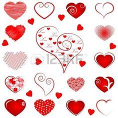 motif coeur: Coeur Résumé Illustration
