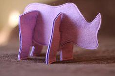 Felt 3D Puzzle Animals Tester Photos