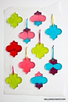 Ramadan Food Ideas: Candy Lanterns - Hello Holy Days! #ramadan #eid