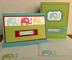 Animal baby card