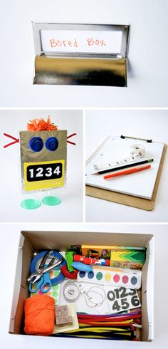 How to Make a Bored Box for your kids