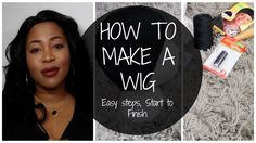 HOW TO MAKE A WIG | Step By Step Tutorial on SEWING A LACE CLOSURE & BUN...