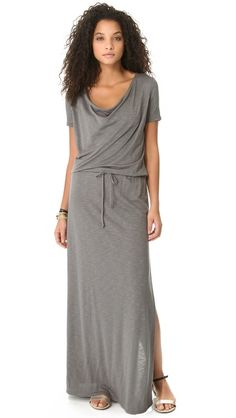 Lanston Draped Maxi Dress...looks so comfortable yet still fun