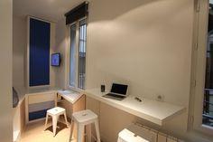 Living in a shoebox   Beautiful renovation of Parisian studio apartment by Cyril Rheims