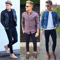1 2 or 3? Follow @mensfashion_guide for more! By @mans_casual_index #mensfashion_guide #mensguides