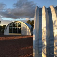 Quonset Hut House: End Wall Windows Completed - Clever Moderns