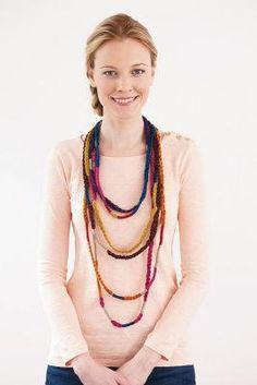 Lion Brand® Bonbons Party Necklaces or Bracelets
