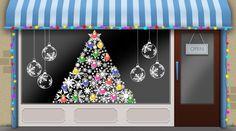 Christmas window ideas for your seasonal shop window display
