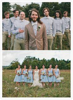 prairie wedding portraits