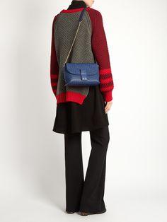 Avenue leather cross-body bag | Loewe | MATCHESFASHION.COM Loewe Bag, Minimalist Fashion, Leather Crossbody Bag, Women Wear, Pouch, Shoulder Bag, Separates, Cross Body, Bags