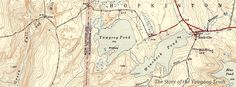 1943 map of the #Yawgoog area, including Phillips Island.