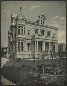 Palacete H. Burchard Gaensly, Guilherme, 1843-1928 ([1902?])