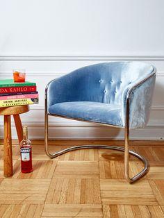 Thonet cantilever armchair