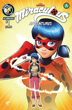 This Wednesday, Action Lab Entertainment has the premiere issue of Miraculous Adventures of Ladybug and Cat Noir, which features all-new stories that take place in the universe of the popular Zag E… Comics Ladybug, Ladybug Y Cat Noir, Meraculous Ladybug, Marinette Adrien, Ladybugs Movie, Comic News, Miraculous Ladybug Funny, Animation, Comic Covers