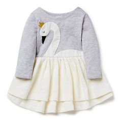 eaf76e6f6ca Swan Novelty Dress. Cute Outfits For KidsTerry LongLittle Girl ...