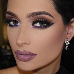 """😍💕 Talal Morcos """" Buy luxury makeup for less here Buy vegan makeup tools here Buy affordable fashion here Mauve Makeup, Eye Makeup, Flawless Makeup, Glam Makeup, Bridal Makeup, Beauty Makeup, Hair Makeup, Makeup Style, Glamorous Makeup"""